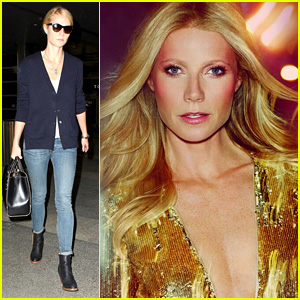 Gwyneth Paltrow Channels Farrah Fawcett for Max Factor Ad!