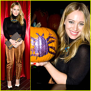Hilary Duff - Just Jared Halloween Party 2013
