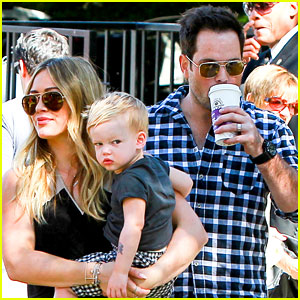 Hilary Duff & Mike Comrie: Halloween Party with Luca!