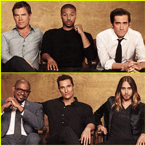 Jake Gyllenhaal & Matthew McConaughey: THR's Actor Roundtable Issue
