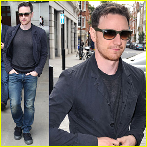 James McAvoy: 'I Had a Great Time' Filming 'Filth'