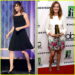 Jennifer Garner & Julia Roberts: Hollywood Film Awards 2013!