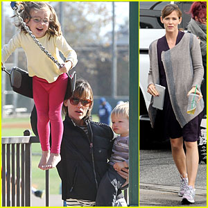 Jennifer Garner: Violet Gave Me Speech Advice!