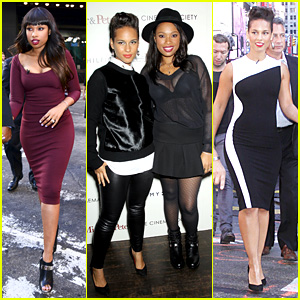 Jennifer Hudson & Alicia Keys: 'Mister & Pete' NYC Screening!