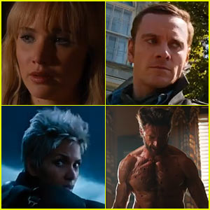Jennifer Lawrence & Halle Berry: 'X-Men: Days of Future Past' Trailer - Watch Now!