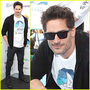 Joe Manganiello Cheers For Diana Nyad's Swim for Relief!