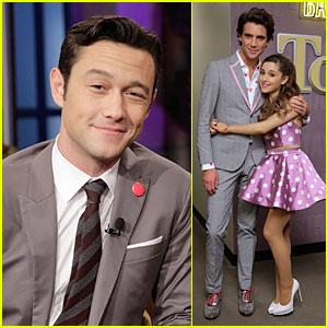 Joseph Gordon-Levitt & Ariana Grande: 'Jay Leno' Guests!
