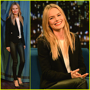 Kate Bosworth: Fierce 'Big Sur' Promo on 'Fallon'!
