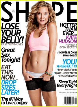 Kate Hudson Bares Abs for 'Shape' Magazine (Exclusive Quotes)
