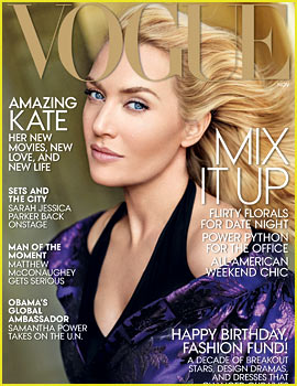 Kate Winslet Covers 'Vogue' November 2013