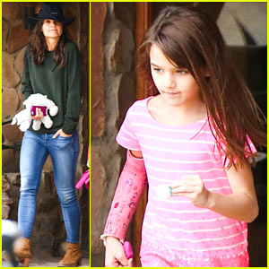 Katie Holmes & Suri Get Their Safari on in South Africa!