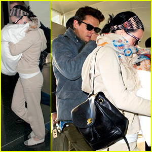 Katy Perry & John Mayer Catch Flight Out of New York City