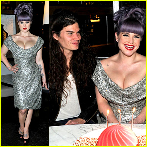 Kelly Osbourne Celebrates Birthday Am
