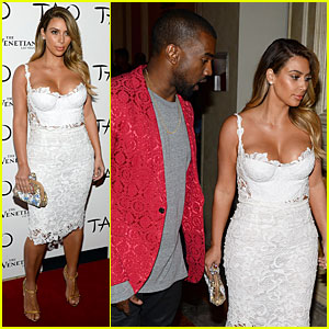 Kim Kardashian: Vegas Birthday Celebration with Kanye West!
