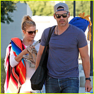 LeAnn Rimes & Eddie Cibrian Eat In-N-Out at Soccer Game!