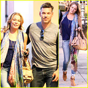 LeAnn Rimes: Sushi Dinner Date with My Man Eddie Cibrian!