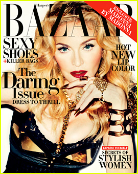 Madonna Covers 'Harper's Bazaar' Daring Issue for N