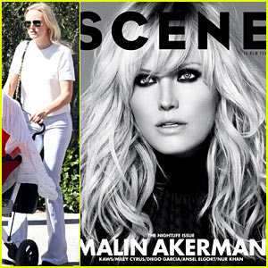 Malin Akerman Covers 'Scene' October 2013