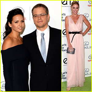 Matt Damon & Julie Bowen: Environmental Media Awards!