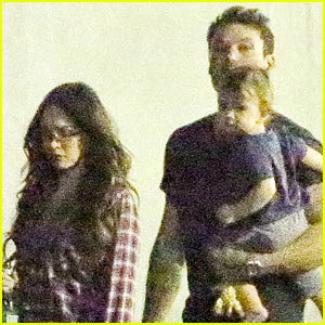 Megan Fox, Brian Austin Green & Noah Enjoy Low Key Family Meal!