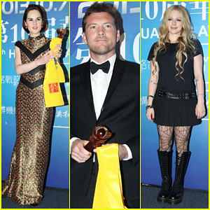 Michelle Dockery & Sam Worthington: Huading Awards 2013
