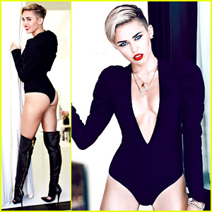 Miley Cyrus: 'Fashion' Magazine Photo Shoot Outtakes!