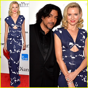 Naomi Watts: 'Diana' NYC Screening with Naveen Andrews!