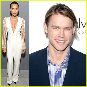 Naya Rivera & Chord Overstreet: 'Elle' Women in Hollywood Celebration!