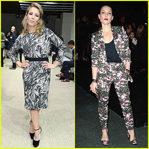 Noomi Rapace: Giambattista Valli & Givenchy Fashion Shows!