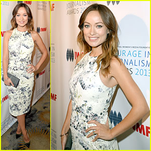 Olivia Wilde Debuts Baby Bump at IWMF Journalism Awards!