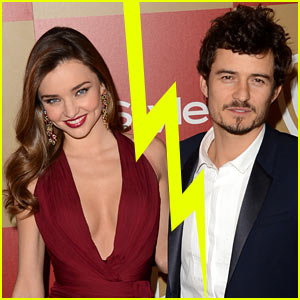 Orlando Bloom & Miranda Kerr Separate After Six Years