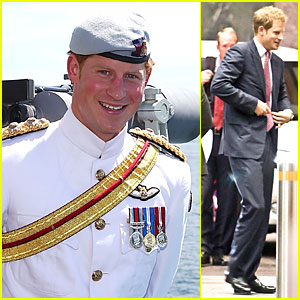 Prince Harry: International Fleet Review in Sydney!