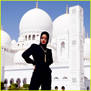 Rihanna Asked to Leave Abu Dhabi Mosque After Photo Shoot