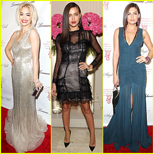 Rita Ora & Alyssa Miller: Angel Ball 2013!