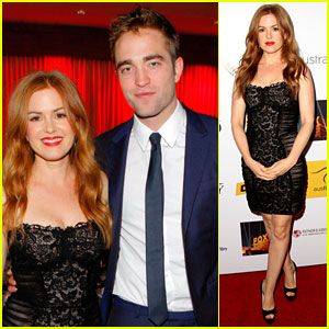 Robert Pattinson & Isla Fisher: Australians in Film Awards Gala