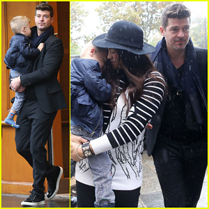 Robin Thicke & Paula Patton Starring Together in 'Mercy'!