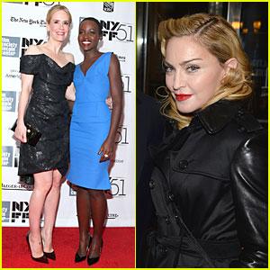 Sarah Paulson & Madonna: '12 Years A Slave' NYC Premiere!