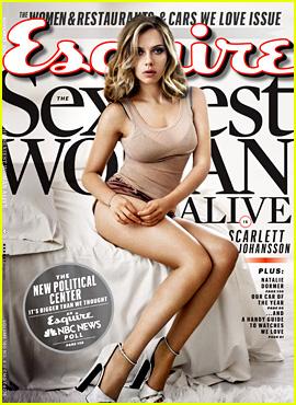 Scarlett Johansson: Esquire's Sexiest Woman Alive 2013!