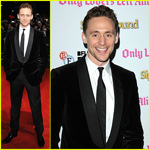 Tom Hiddleston: 'Only Lovers Left Alive' Screening at BFI Fest!