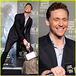 Tom Hiddleston: 'Thor: The Dark World' Seoul Press Conference