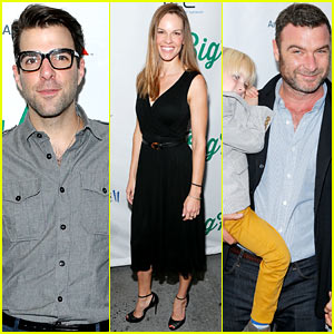Zachary Quinto & Liev Schreiber: 'Big Fish' Broadway Opening!