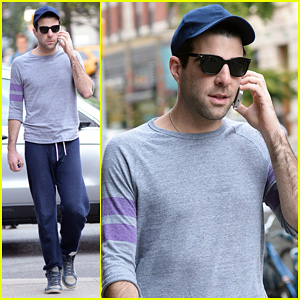 Zachary Quinto: 'Theater's My Jam'