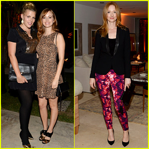 Ahna O'Reilly & Judy Greer: Coach Event! (Exclusive Photos)