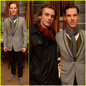 Benedict Cumberbatch & Jamie Campbell Bower: CineCity Film Festival Kick-Off Party