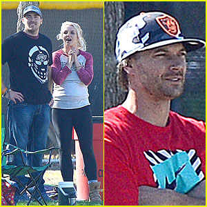 Britney Spears & David Lucado: Soccer Game with Kevin Federline!