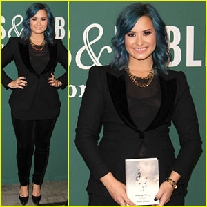 Demi Lovato Signs Copies of 'Staying Strong' at The Grove!