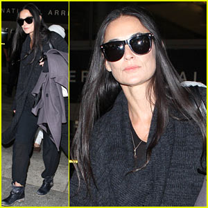 Demi Moore: Back in America After Spiritual Conference in India