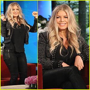 Fergie Talks Axl's C-Section Birth on 'Ellen'!