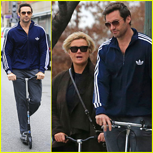 Hugh Jackman Steps Out with Family After 'Wolverine' News!