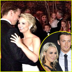 Jake Abel: Married to Allie Wood - See Wedding Photos Here!
